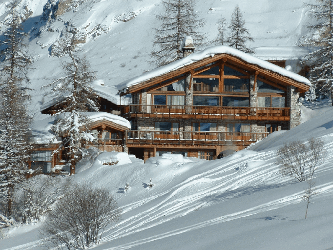 Le Chardon chalet in Val Disere