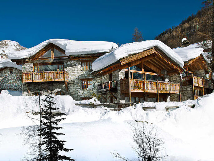 Mistral mountain lodge in Val d'Isere