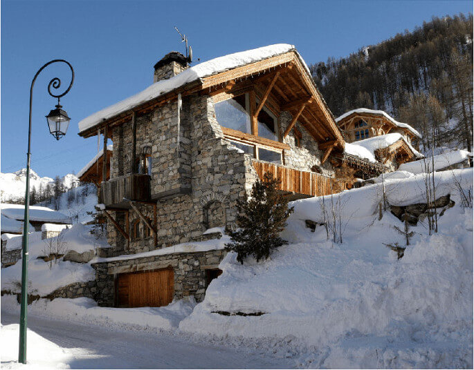 La Bergerie mountain lodge in Val d'Isere