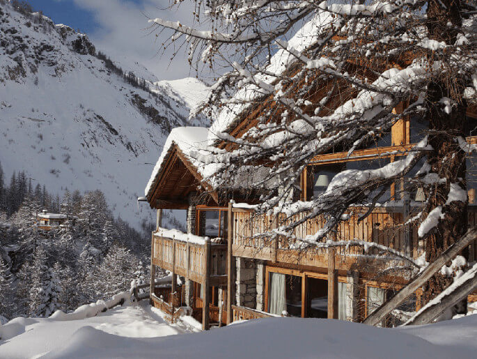 Lafitenia mountain lodge in Val d'Isere